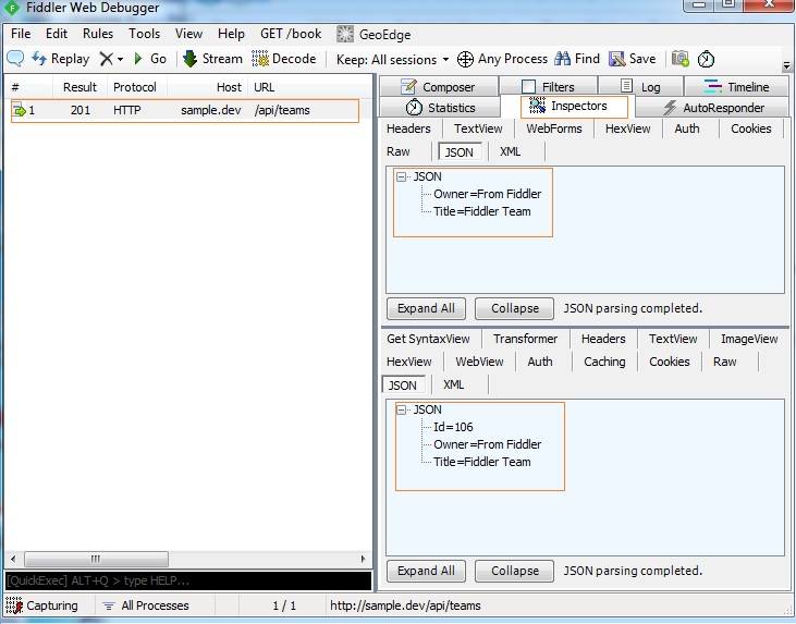 Blog - ASP NET WEB API Part 3 - Web debugging with Fiddler and