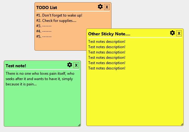 jQuery Sticky Note - CheckOutAll com